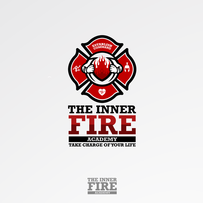 Design a powerful, eye-catching logo for a firefighter ...