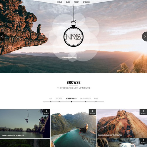Diseño finalista de WebAppDesigns