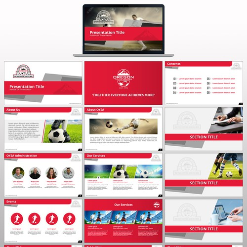 agm powerpoint template design | powerpoint template contest, Agm Presentation Template, Presentation templates