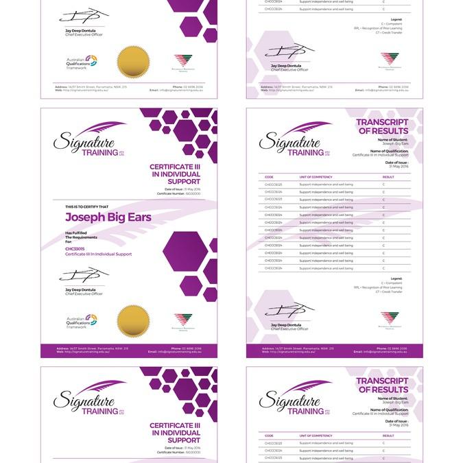 Winning design by Elok Design