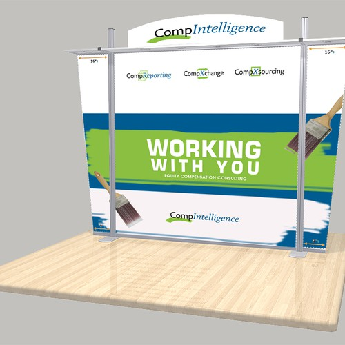 Trade Show Booth Backdrop : Trade show booth backdrop for compintelligence other