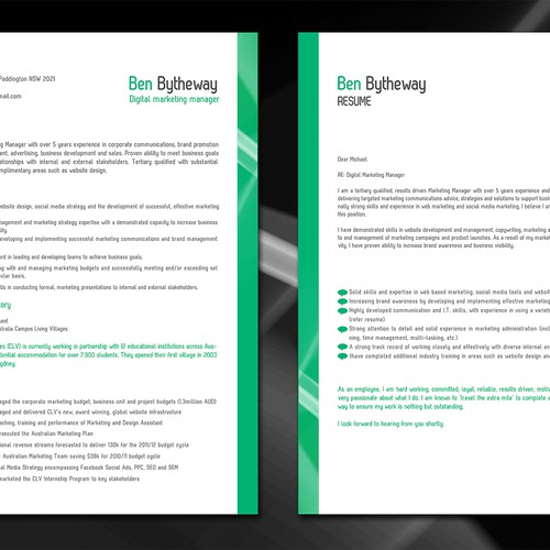 Resume Cover Letter Make Me Look Great Stationery Contest 99designs