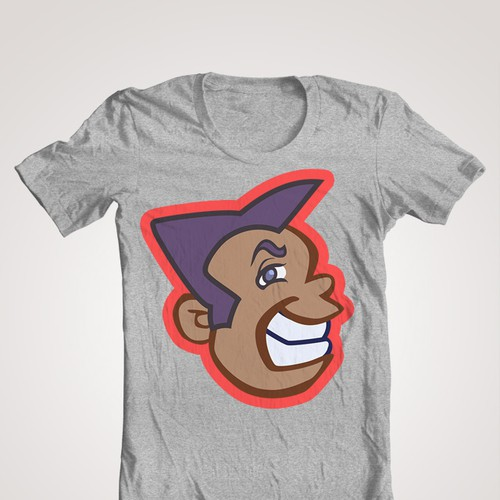 Create character for indie tshirt startup Design by GMC Studio