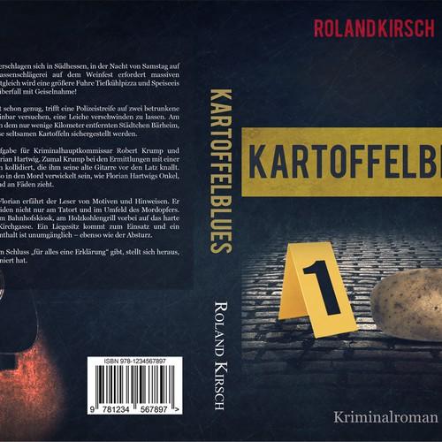 Book Cover Contest : Kartoffelblues book cover contest