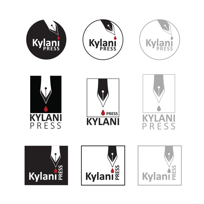 Winnend ontwerp van grounded logos