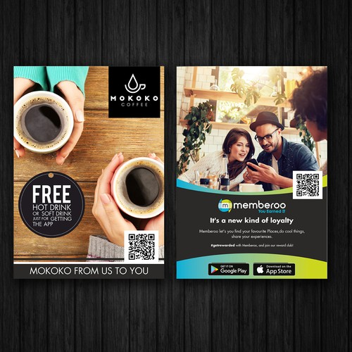 Design marketing collateral for an innovate loyalty app Design by FuturisticBug