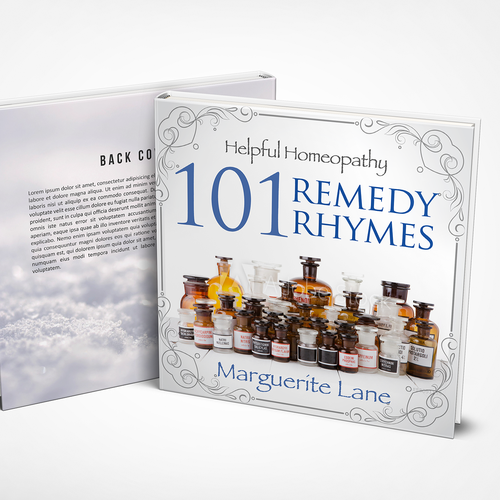 Simple Elegant Book Covers ~ A simple and elegant cover for book of homeopathic