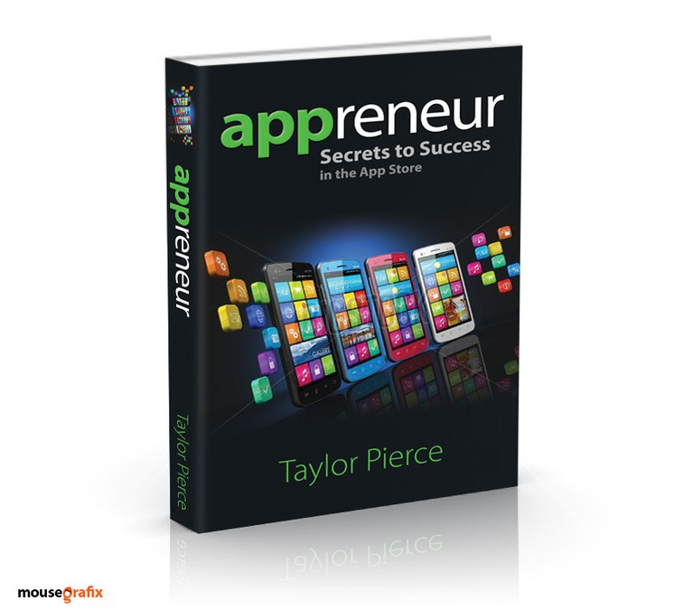 Book Cover Design App : Book cover for appreneurs secrets to success in the app