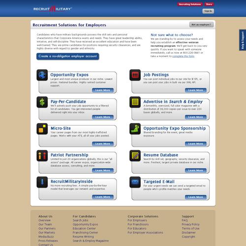 Diseño finalista de 5pageweb
