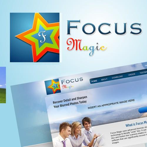 Icon design for the Focus Magic web site Design by uidesigner
