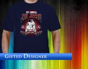 T-shirt design by Gifted Designer