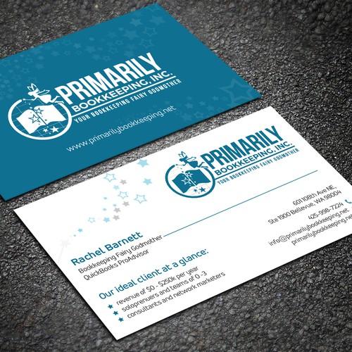 Business card needed for accounting firm concurso carto de visita design finalista por sahasrabon reheart Images