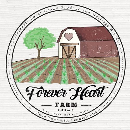 Small Organic Farm Needs Logo and Branding Design by hhtun21