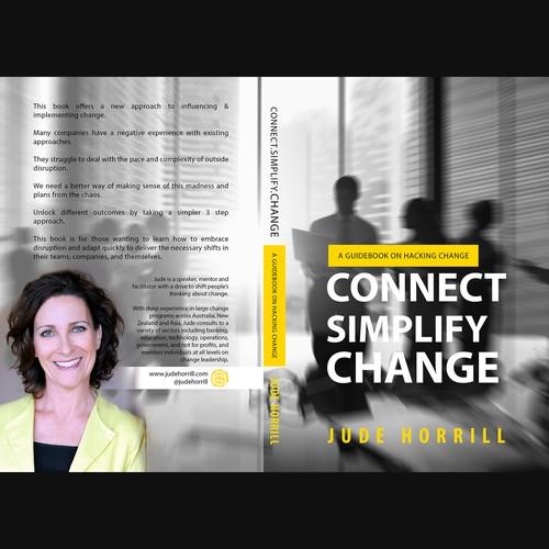 Design di Book cover for disruptive thinker di Aaniyah.ahmed