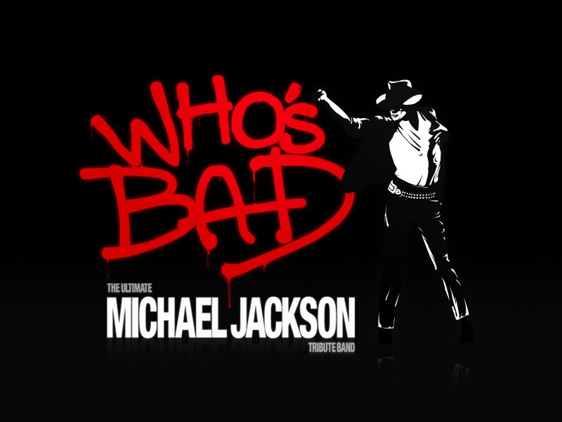 "Logo for ""Who's Bad? The Ultimate Michael Jackson Tribute ... 