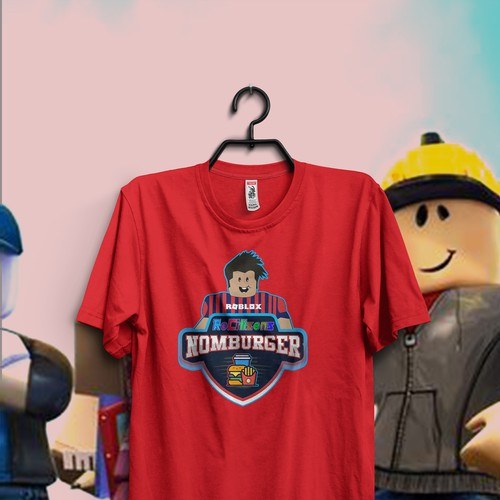 Create a unique T-Shirt graphic for popular Roblox game