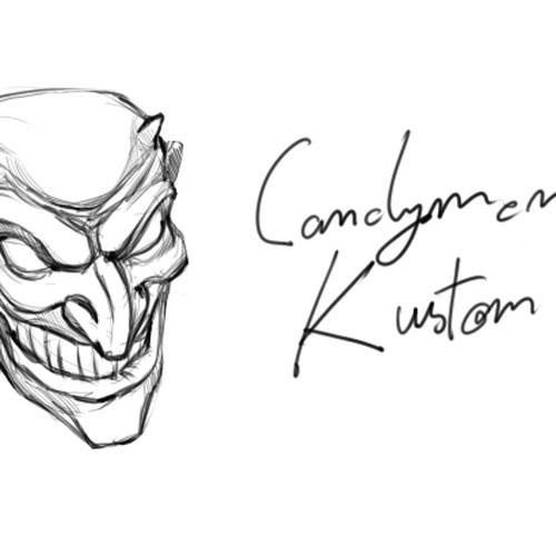 candyman kustomz ltd  needs a new logo