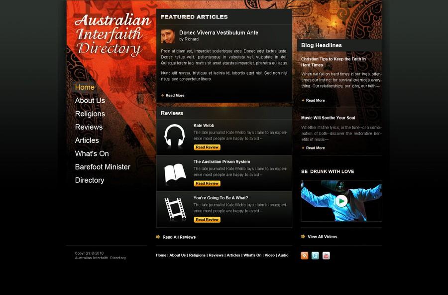 DesignMyTemplate.comさんが制作した優勝作品