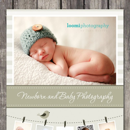 Loomi Photography needs a new postcard or flyer Design by Jelena 021