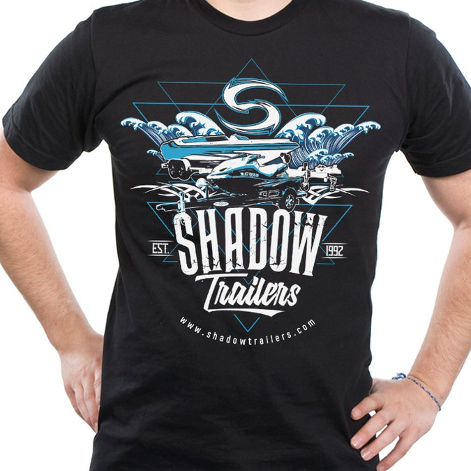 Looking for unique t shirt design for a high end custom for Custom boat t shirts