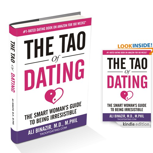 "Redesign the cover of ""The Tao of Dating"", the highest-rated dating book for women Design by Rac.design"