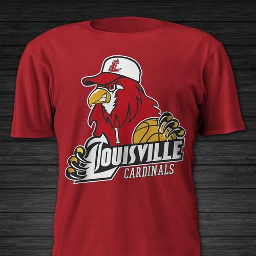fan tshirt design for college basketball team tshirt