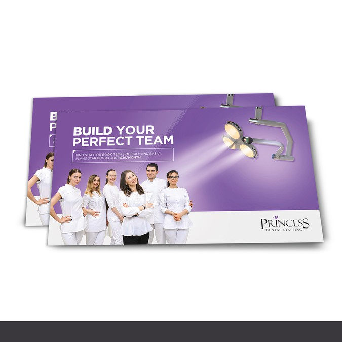Start-up dental staffing agency needs powerful 6 x 11 direct