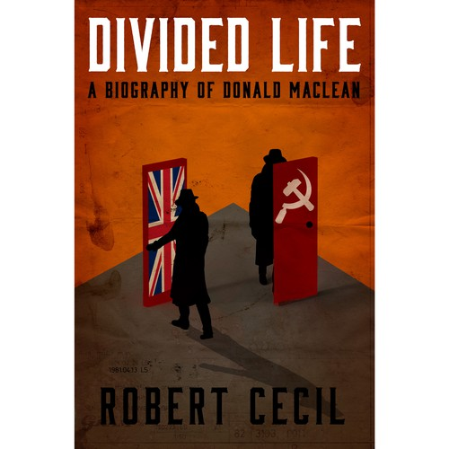 Biography Book Covers: Book Cover For Biography Of Famous British Spy