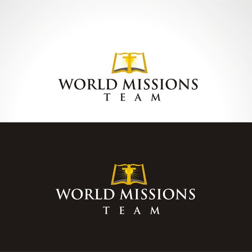 logo for world missions team logo design contest