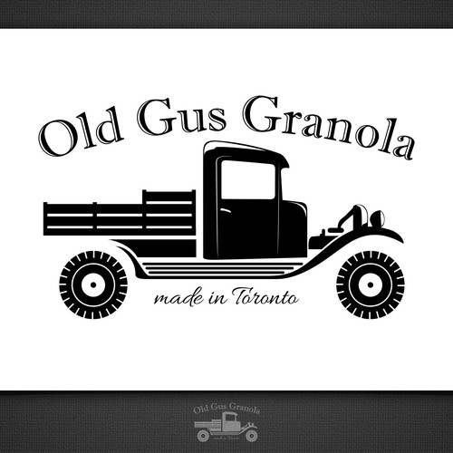 Create A Classic Logo With Illustration Of Vintage Ford