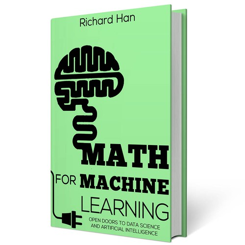 Design a Book Cover for Math/Machine Learning Book | Book cover contest