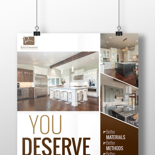 1 4 Page Ad For A Custom Home Builder Other Business Or
