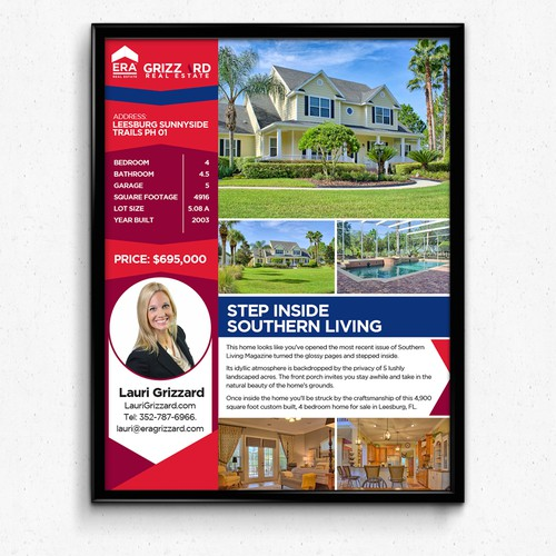 create an hgtv style real estate flyer to wow homebuyers concurso