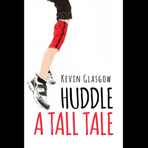 Create a cool kid book cover for a shoe and height obsessed sixth grade character Diseño de dalim