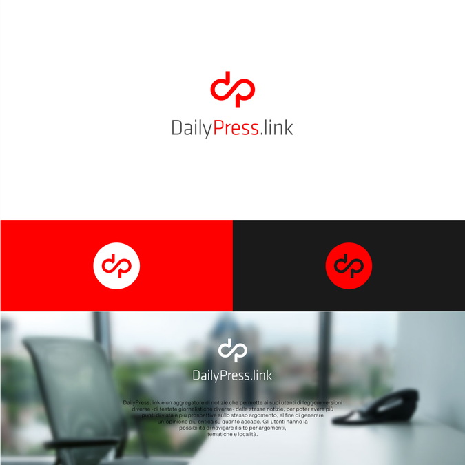 logo per sito di notizie logo design contest