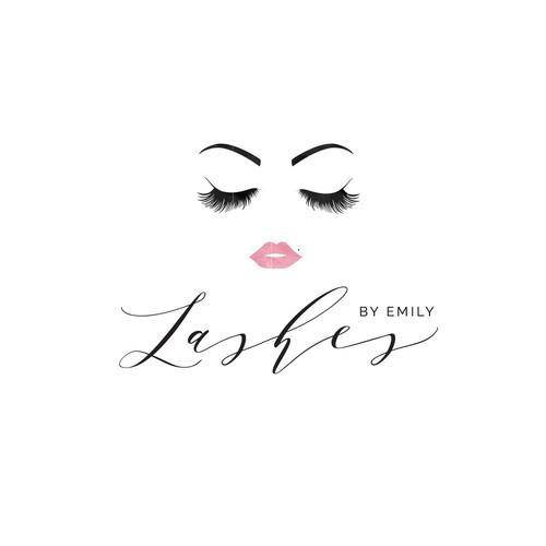 Eyelash extension logo for luxury eye lash extensions ...