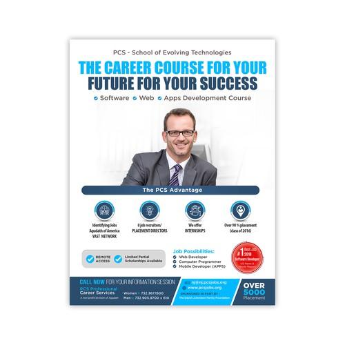 Software Development Course Flyer Postcard Flyer Or Print Contest 99designs