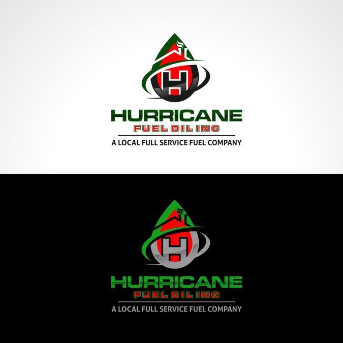 Create an eye catching logo for Hurricane Fuel Oil Inc ...
