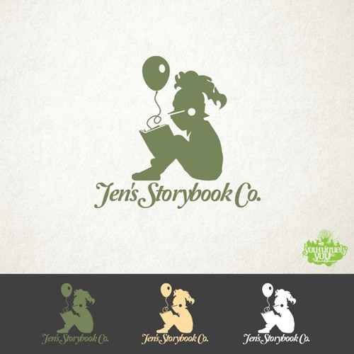 Logo Design for Children's Book Company Design by YNYPhotoandDesign
