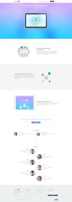 Diseño ganador de UI Maniac
