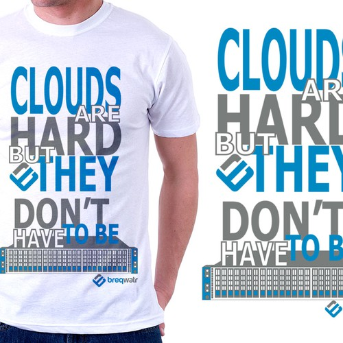 Create A High Impact Contrast T Shirt For A Start Up Tech