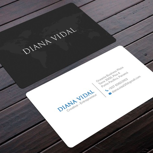 Creative business cards for young entrepreneur business card contest runner up design by felix sh reheart Choice Image