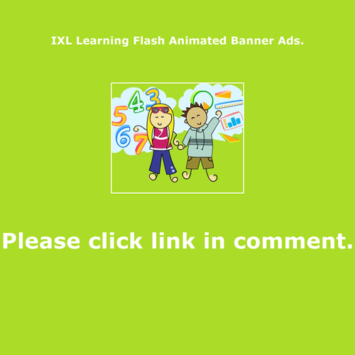 Help Ixl Learning Design New Flash Banners Flash Banner Contest 99designs