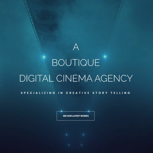 Video Production Company Website // Simplistic Design Design by iwdesigners