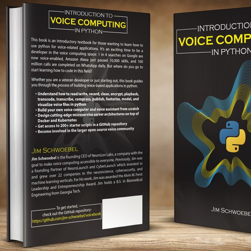 Design A Book Cover Connecting Voices With Computers Book Cover Contest 99designs