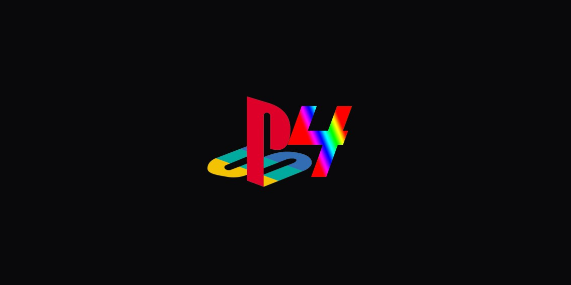 PS4 rainbow