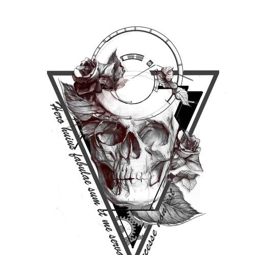 Hip - Dark - Sketch Tattoo Design Needed! Design by Idet87
