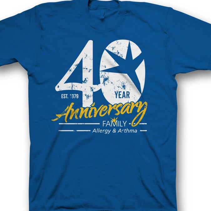 Design a 40th Anniversary shirt for a Healthcare Company | T ...