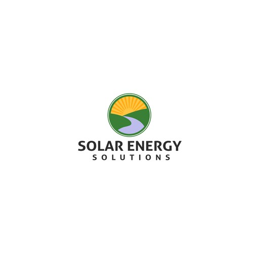 Solar power company logo design for the next industrial for Best industrial design companies