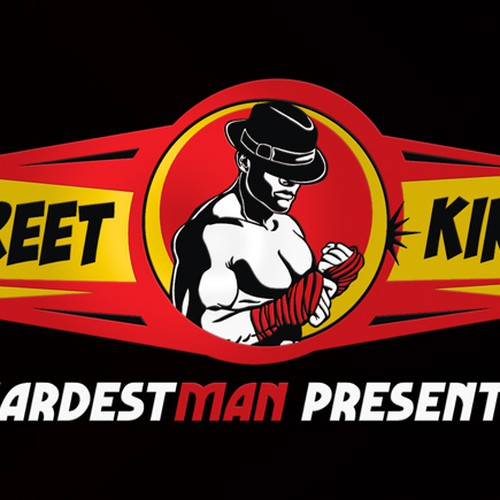 Creating the logo for 'Street Kings', a Hardest Man brand
